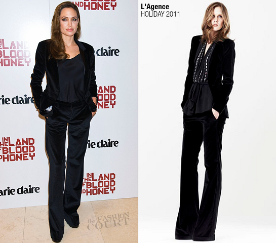 Angelina Jolie in L'Agence | 'In The Land of Blood and Honey' Marie Claire Screening