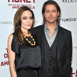 """Angelina Jolie & Brad Pitt 