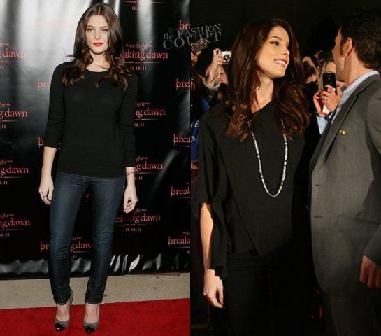 Ashley Greene in DKNY, La Fee Verte & Veda | 'The Twilight Saga: Breaking Dawn - Part 1'' Concert Tour
