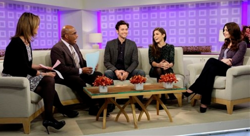 Ashley Greene in L'Wren Scott, Theyskens' Theory, J Brand & More! | The 'Today' Show