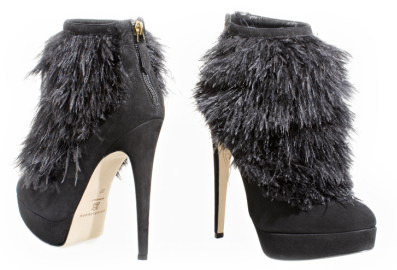 Brian Atwood ALEXA Platform Ankle Boots