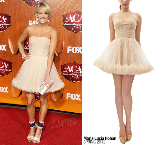 Carrie Underwood in Maria Lucia Hohan | American Country Awards 2011