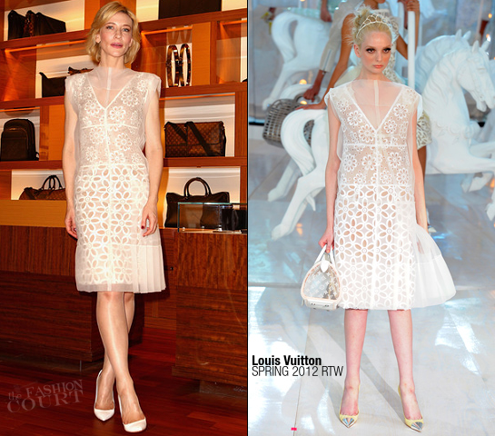 Cate Blanchett in Louis Vuitton | Sydney Louis Vuitton Maison Opening