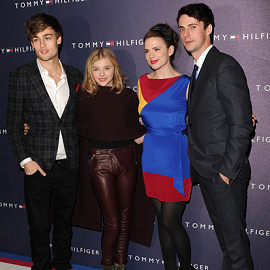 Douglas Booth, Chloe Moretz, Hayley Atwell & Matthew Goode | Tommy Hilfiger London Flagship Store Launch