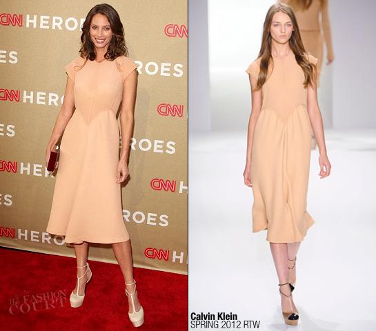 Christy Turlington Burns in Calvin Klein | 2011 CNN Heroes: An All-Star Tribute