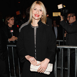 Claire Danes in Prabal Gurung | 'An Evening with Patti Lupone and Mandy Patinkin' Broadway Opening Night