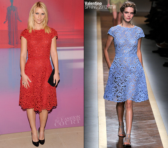 Claire Danes in Valentino | Valentino Garavani Virtual Museum Launch Party