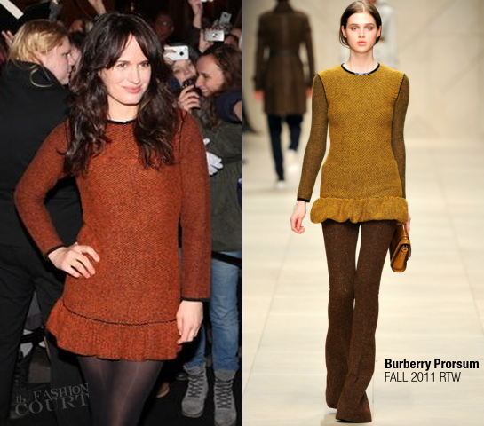 Elizabeth Reaser in Burberry Prorsum | 'The Twilight Saga: Breaking Dawn - Part 1' Oslo Premiere