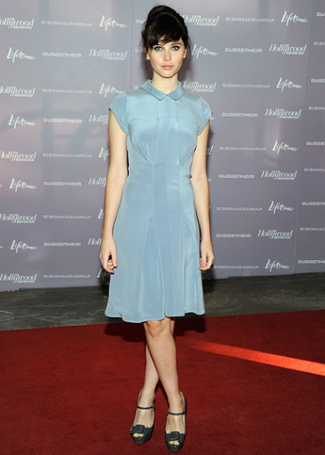 Felicity Jones in Calvin Klein | Power 100: Women In Entertainment Breakfast