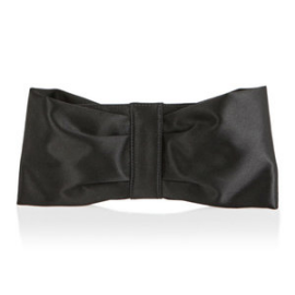 Salvatore Ferragamo Satin Bow Clutch