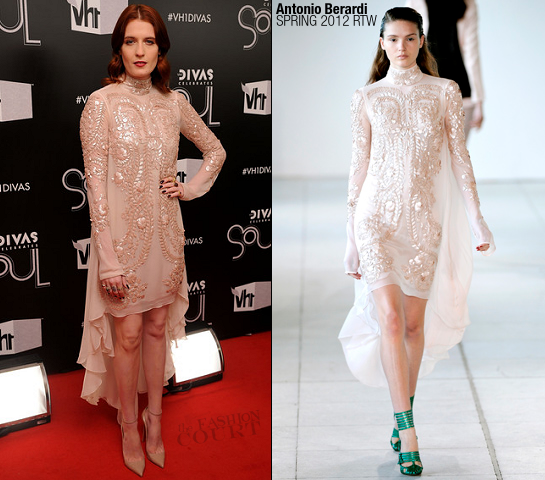 Florence Welch in Antonio Berardi | VH1 Divas Celebrates Soul