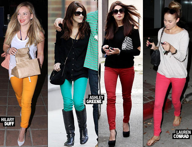 2011 Style Verdicts: Hot Trend - Colorful Denim