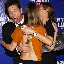 Harry Connick Jr., Hilary Swank and Jill Goodacre | 'On A Clear Day You Can See Forever' Broadway Opening