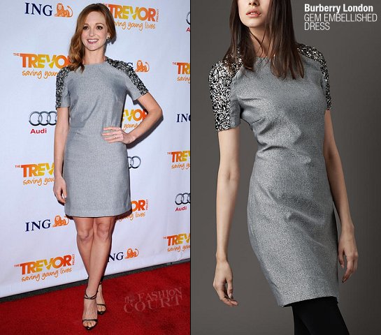 Jayma Mays in Burberry London | The Trevor Project's 2011 Trevor Live!