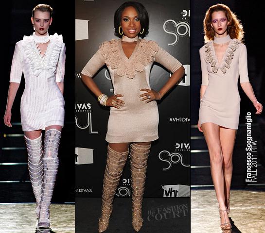 Jennifer Hudson in Francesco Scognamiglio | VH1 Divas Celebrates Soul