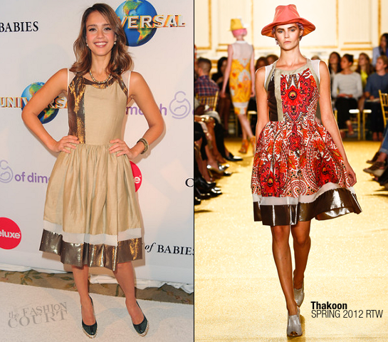 Jessica Alba in Thakoon | March Of Dimes' 6th Annual Celebration Of Babies Luncheon
