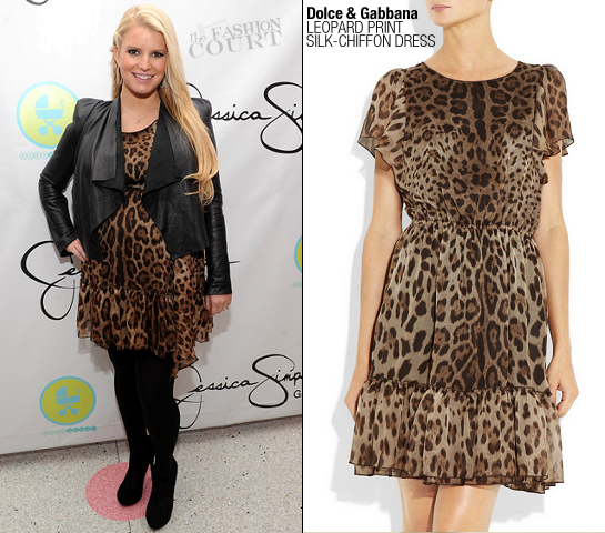 Jessica Simpson in Dolce & Gabbana | Jessica Simpson Girls Launch at Dylan's Candy Bar