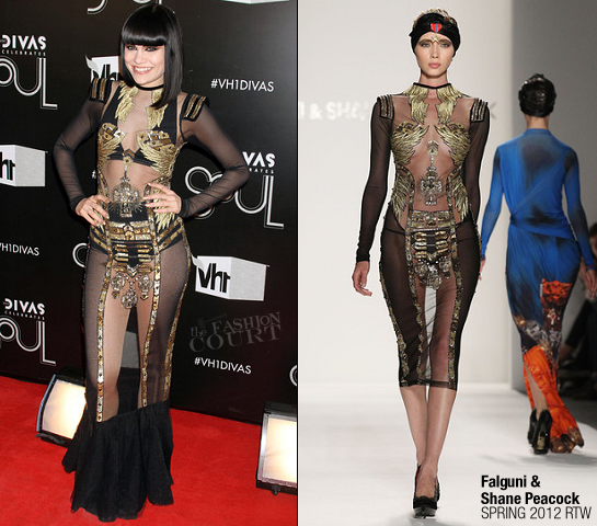 Jessie J in Falguni and Shane Peacock | VH1 Divas Celebrates Soul