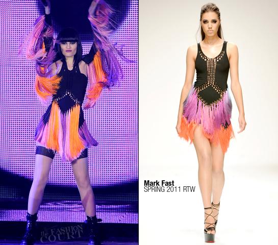 Jessie J in Mark Fast | VH1 Divas Celebrates Soul