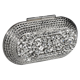 Jimmy Choo Crystal Oval Clutch
