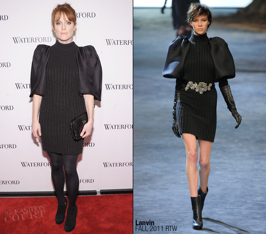 "Julianne Moore in Lanvin | Waterford ""Live A Crystal Life"" Unveiling"