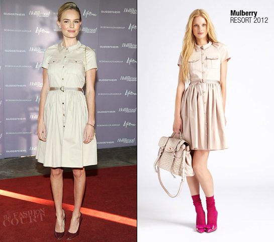 Kate Bosworth in Mulberry | Power 100: Women In Entertainment Breakfast