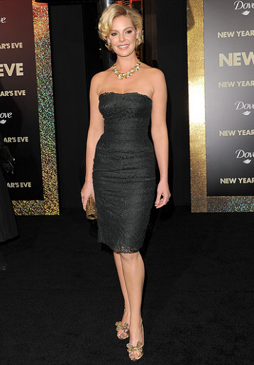 Katherine Heigl in Dolce & Gabbana | 'New Year's Eve' LA Premiere
