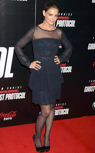 Katie Holmes in Holmes & Yang | 'Mission: Impossible – Ghost Protocol' NY Premiere