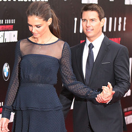 Katie Holmes & Tom Cruise | 'Mission: Impossible – Ghost Protocol' NY Premiere