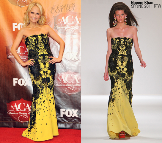 Kristin Chenoweth in Naeem Khan | The American Country Awards 2011