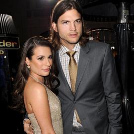 Lea Michele & Ashton Kutcher | 'New Year's Eve' LA Premiere