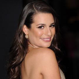 Lea Michele in Valentino | 'New Year's Eve' LA Premiere