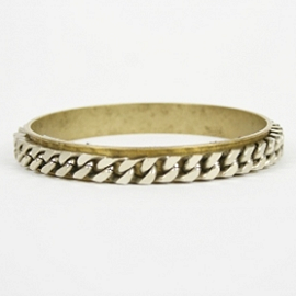 Lizzy Couture CURB CHAIN Bangle B2700