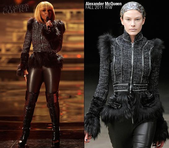 Mary J. Blige in Alexander McQueen | VH1 Divas Celebrates Soul