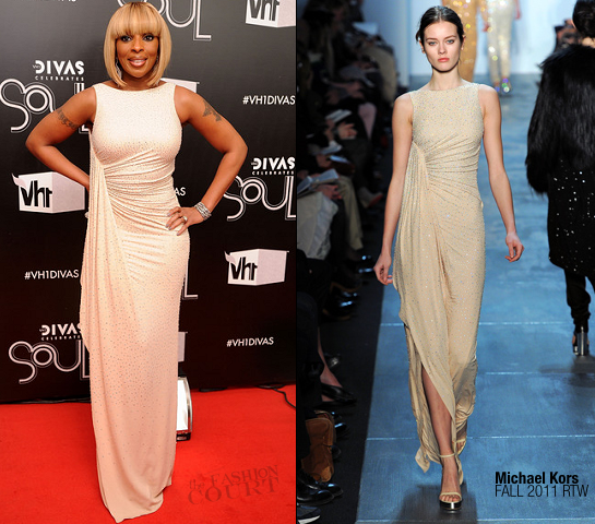 Mary J. Blige in Michael Kors | VH1 Divas Celebrates Soul