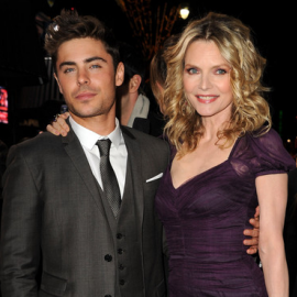 Zac Efron & Michelle Pfeiffer | 'New Year's Eve' LA Premiere