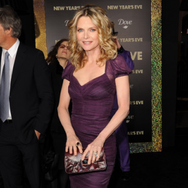 Michelle Pfeiffer in Dolce & Gabbana | 'New Year's Eve' LA Premiere