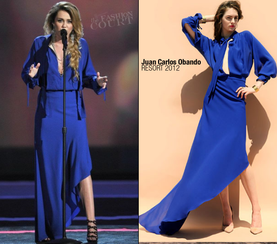 Miley Cyrus in Juan Carlos Obando | 2011 CNN Heroes: An All-Star Tribute