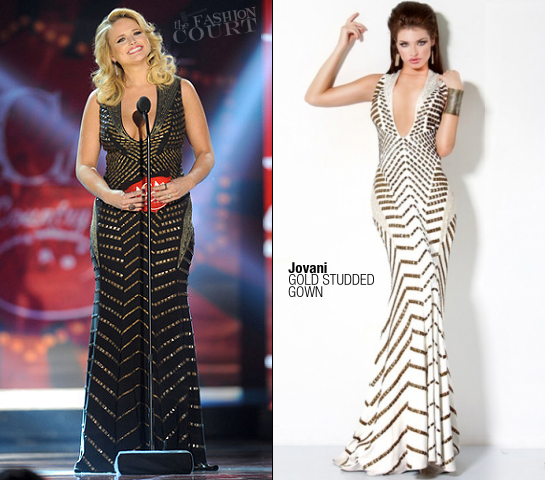 Miranda Lambert in Jovani | American Country Awards 2011