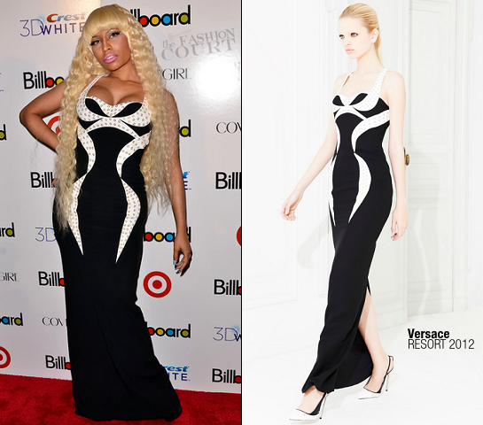 Nicki Minaj in Versace | Billboard's 6th Annual Women In Music Event