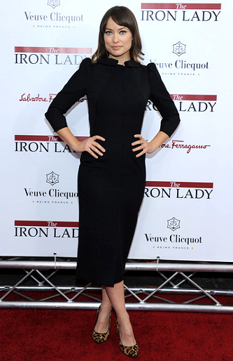 Olivia Wilde in Dolce & Gabbana | 'The Iron Lady' NY Premiere