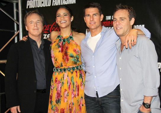 Paula Patton in Dolce & Gabbana | 'Mission: Impossible - Ghost Protocol' Rio de Janeiro Premiere