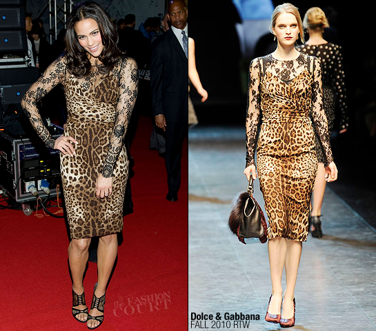 Paula Patton in Dolce & Gabbana | 'Mission: Impossible - Ghost Protocol' Seoul Premiere