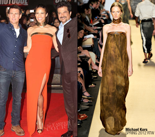 Paula Patton in Michael Kors | 'Mission: Impossible - Ghost Protocol' Mumbai Premiere