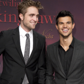 Robert Pattinson & Taylor Lautner | 'The Twilight Saga: Breaking Dawn - Part 1' Berlin Premiere