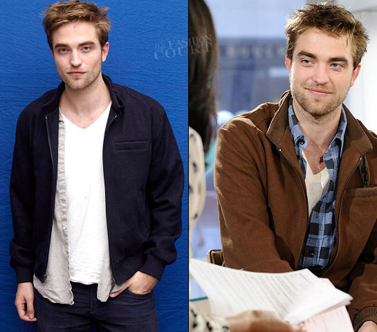 Robert Pattinson wears the ACNE 'Buffalo' Wool Bomber!