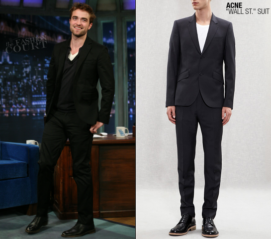 Robert Pattinson in ACNE | Late Night with Jimmy Fallon