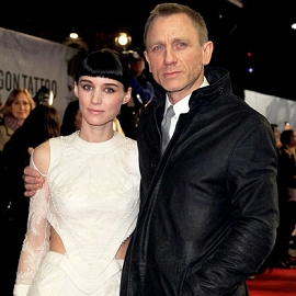 Rooney Mara and Daniel Craig | 'The Girl with the Dragon Tattoo' London Premiere