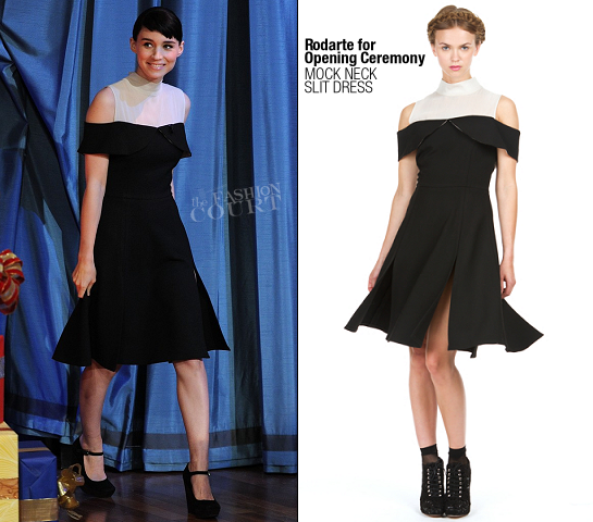 Rooney Mara in Rodate x Opening Ceremony | 'Late Night with Jimmy Fallon'