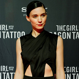Rooney Mara in Roksanda Ilincic | 'The Girl with a Dragon Tattoo' Stockholm Premiere